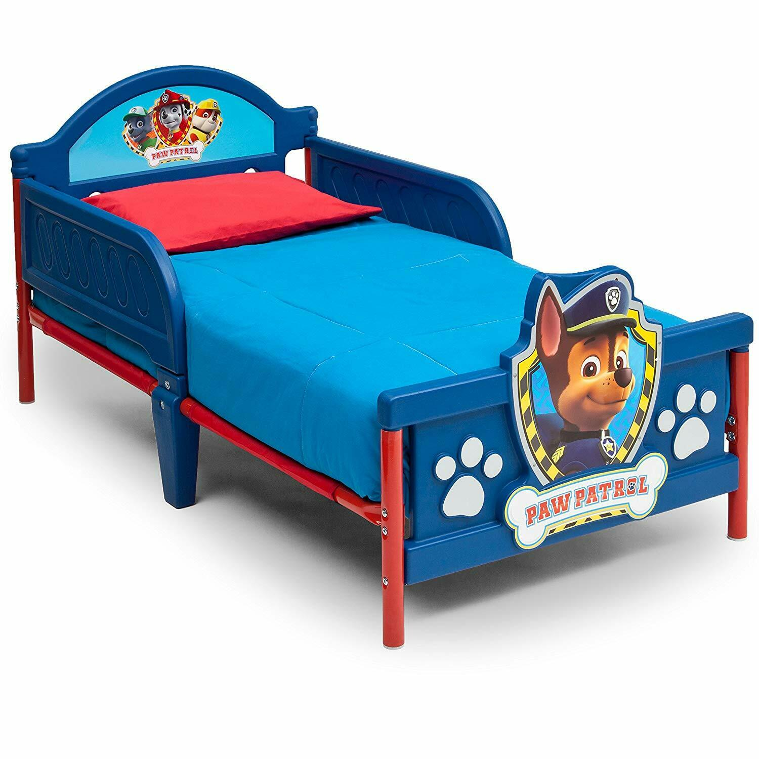 New Delta Children 3D-Footboard Toddler Bed, Nick Jr. PAW Pa