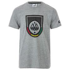 Mens adidas Originals Mens Spezial Mod Trefoil T-Shirt in Grey Marl - XS