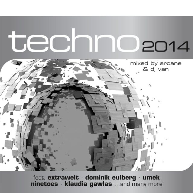 CD Techno 2014 von Various Artists 2CDs