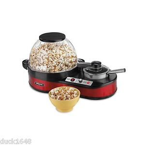 waring pro popcorn maker popper with melting station new - Waring Pro