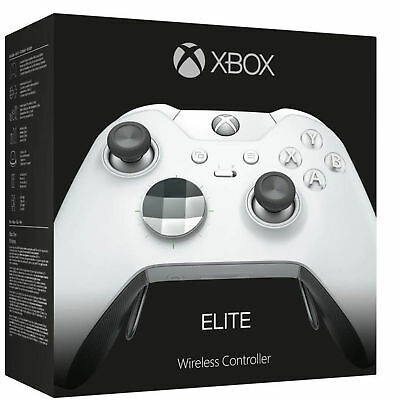 Microsoft Xbox One Elite Wireless Controller - Platinum White