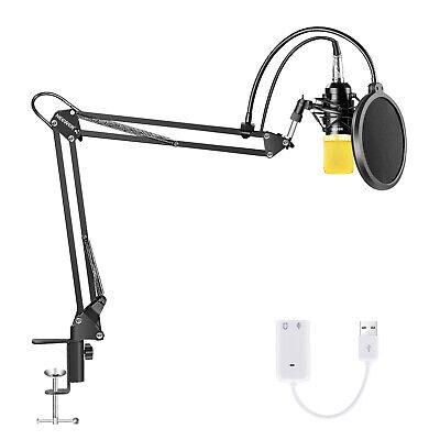 Neewer NW-700 Microfono de Condensador Estudio Profesional Cardioide Actualizado