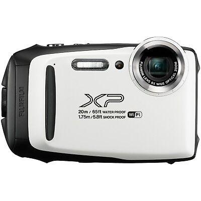Fujifilm FinePix XP130 16.4MP 5x WHITE Waterproof Camera [Certified Refurbished]