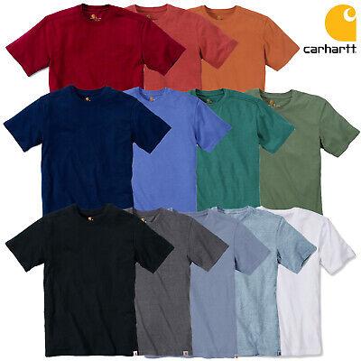 Carhartt Pocket (Carhartt T-Shirt Maddock Non Pocket Shirt 100% Baumwolle | NEU | S M L XL XXL)