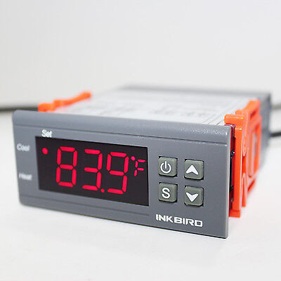 Inkbird Digital Temperature Controller Itc1000 110v Programmable Thermostat Cf