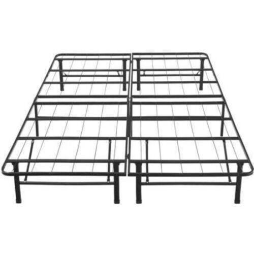 Platform Bed Frame Cal King Size Mattress Foundation Metal B