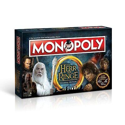 Monopoly Herr der Ringe HdR Brettspiel Gesellschaftsspiel Spiel Deutsch online kaufen