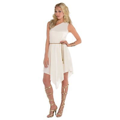 Adult Ladies Ancient Greek Goddess Grecian Princess Toga Fancy Dress Costume](Ancient Greek Costumes)