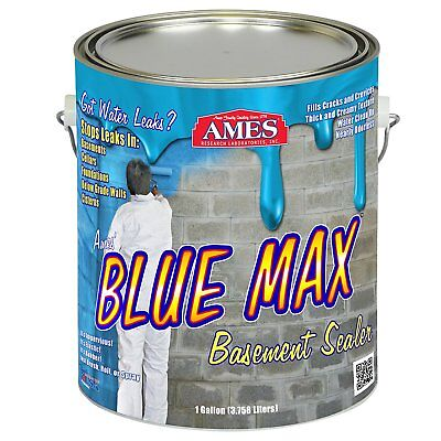 Elastomeric Liquid Rubber 1gal Pail Water Proofing Basement Paint Coat Sealant