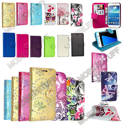 Wallet Flip Leather Case Cover For Motorola Moto C/E4/G5/G5 Plus Mobile Phones