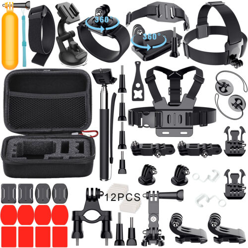 GoPro Accessories Outdoor Sports Bundle Kit for GoPro Hero 8/7/6/5/4//3/2 Camera