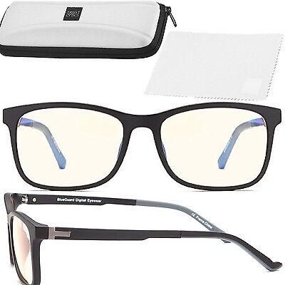Computer Screen Protection Glasses Video Gaming Anti UV Glare Blue Light Lenses