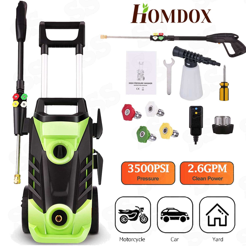 Homdox 3500 PSI Electric Pressure Washer 1800W Powered Washe