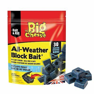 The Big Cheese All-Weather Block Bait Ii - 12 x 30 X 10 GM [VIC1005]