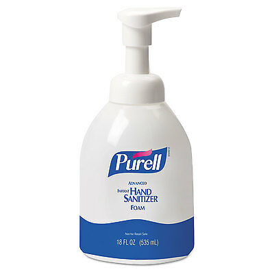 - PURELL Advanced Non-Aerosol Foaming Hand Sanitizer w/Moisturizers 18oz Pump