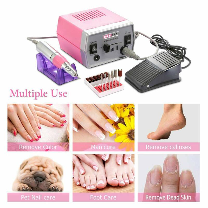State of Art Pro Salon Nail Grooming Kit for Pedicure and Ma