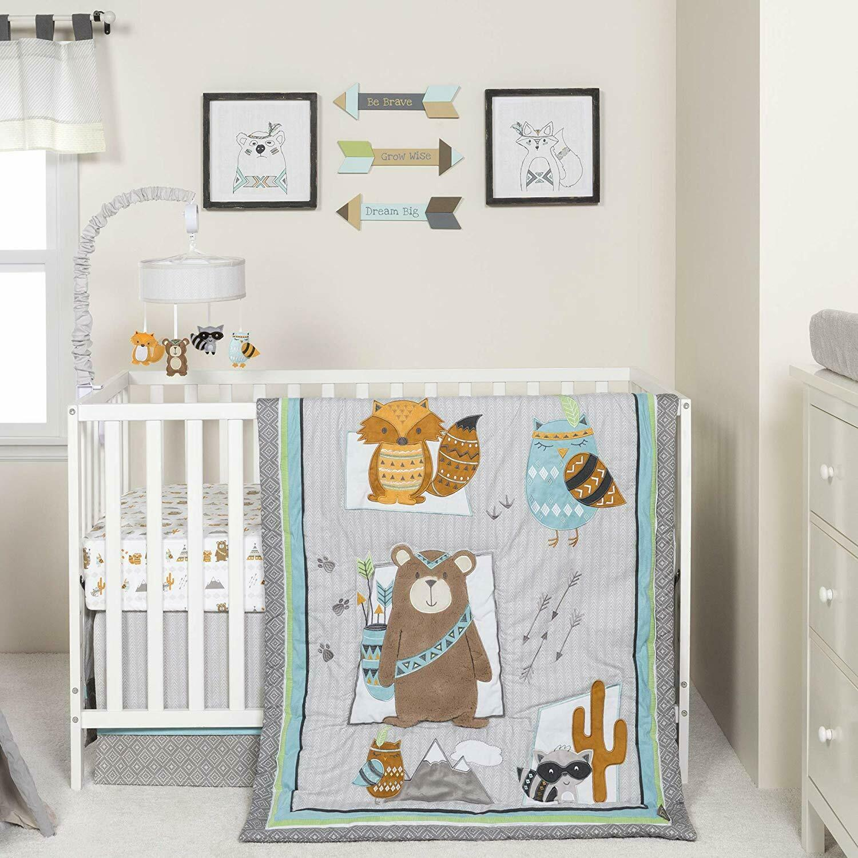 lodge buddies baby nursery crib bedding choose