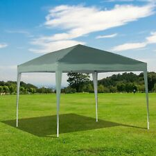 10x10ft Outdoor Folding Pop Up Party Tent Wedding Gazebo Sunshade Portable Green