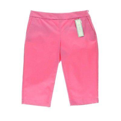 Charter Club Women's Modern Fit Skimmer Capri Pant - Pink - Size 18