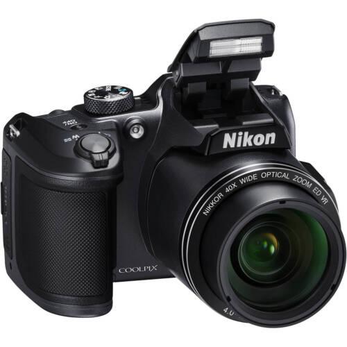 Nikon COOLPIX B500 16.0-Megapixel Digital Camera Black 26506