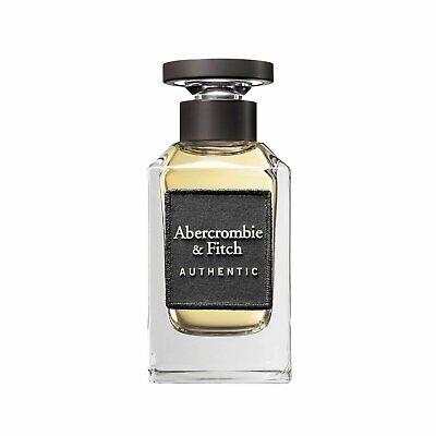 Abercrombie & Fitch Authentic Man 3.4 oz EDT spray mens cologne 100 ml NIB