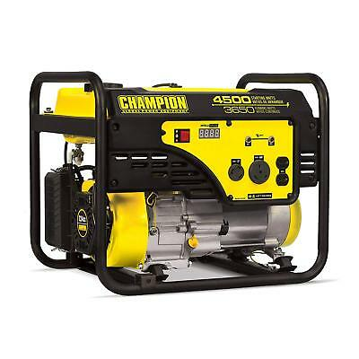 Champion 3650 watt portable generator 244cc Model #100331