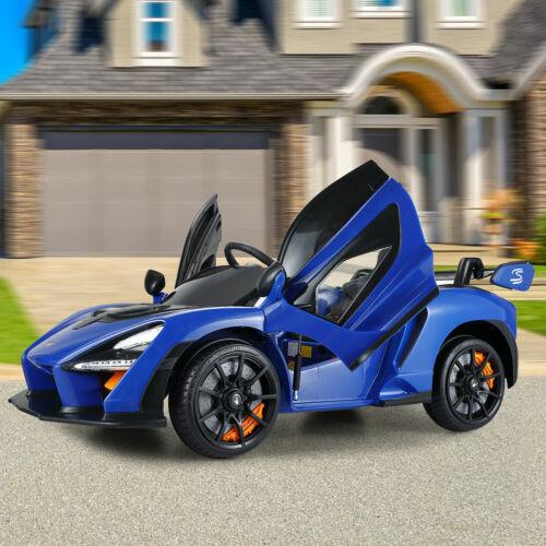 12V Licensed McLaren Kids Ride On Car Electric Motorized Vehicles w/Music Remote
