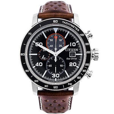 NEW Citizen Brycen Men's Chronograph Eco Drive Watch - CA0641-24E