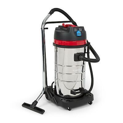 Aspiradora Industrial Profesional Limpieza Húmeda Seca Aspirar 100 litros 2400W