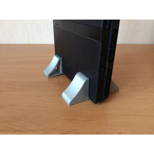 Set of Sony PS2 Slim Vertical Stand Study Build & Solid Design - SCPH-90110 Alt