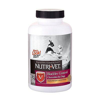 Nutri-Vet Bladder Control Liver Chewables For Dogs Senior Incontinence, 90 count