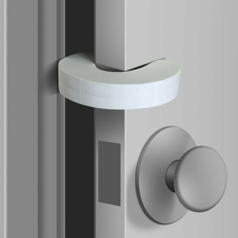Door Pinch Guards (6 Pack) Baby Proof Doors Extra Soft Foam by Jool Baby