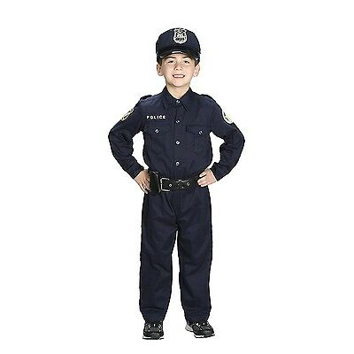 Aeromax Jr. Police Officer Suit, Kids Child Costume (size 2/3)
