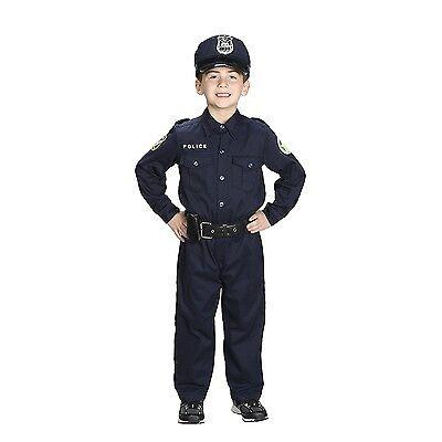 Jr Police Officer (Aeromax Jr. Police Officer Suit, Kids Child Costume (size)