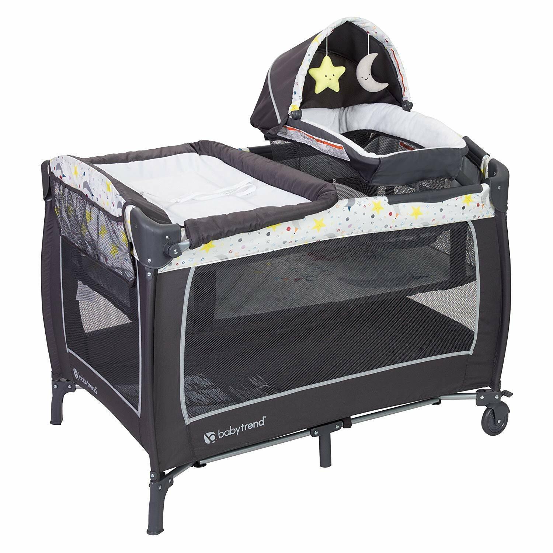 Baby Trend Lil Snooze Deluxe 2 Nursery Center, Twinkle Twink