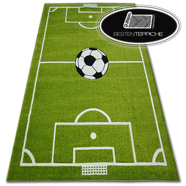 9 Größen Fußballplatz FUSSBALL PITCH FÜR KINDER Weich Teppich PILLY 4765 Ball