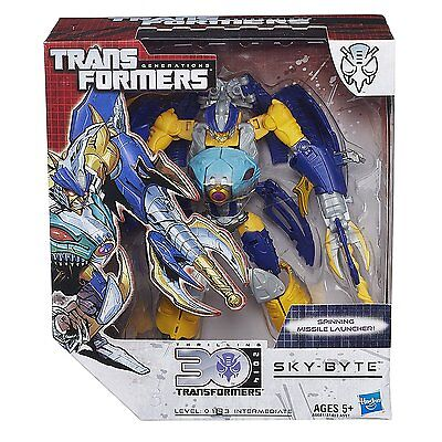 Transformers Generations Voyager Class Sky Byte Figure