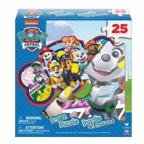 New Paw Patrol Foam Floor Puzzle 25 Piece Puzzle 13X24in