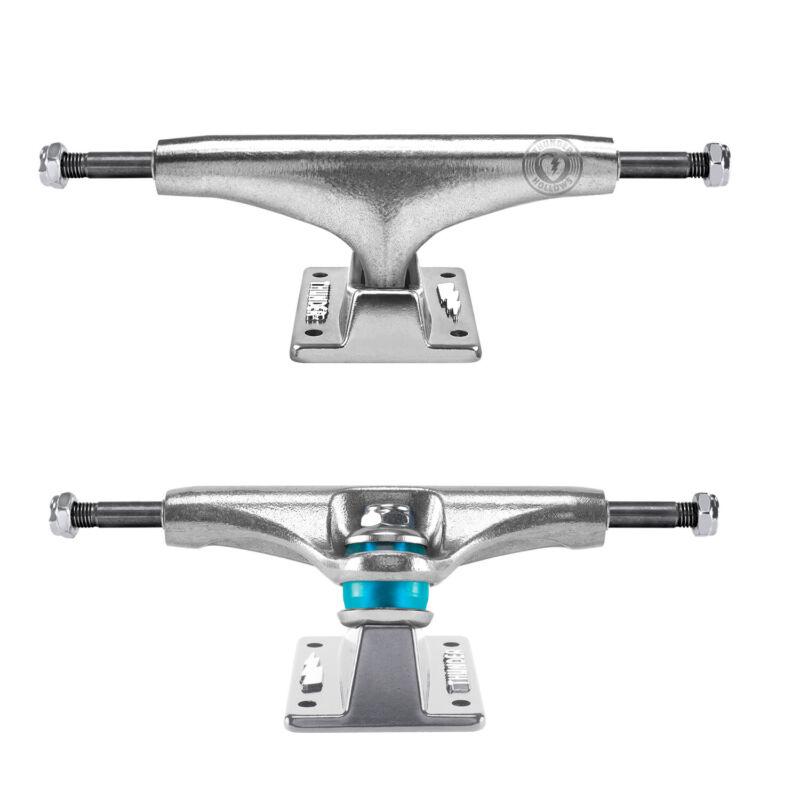 "Thunder Skateboard Trucks 147 Hollow Polished II Silver 8.0"" Axle - Pair"