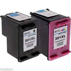 HP-301XL-COLOUR-BLACK-REFILLED-INK-FOR-DESKJET-1000-1050-1050A-CH564EE-CH563EE
