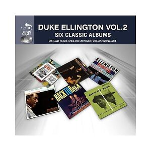 DUKE ELLINGTON - INDIGOS/JAZZ PARTY/SIDE MY SIDE/BACK TO BACK/BLUES IN ORBIT 4CD