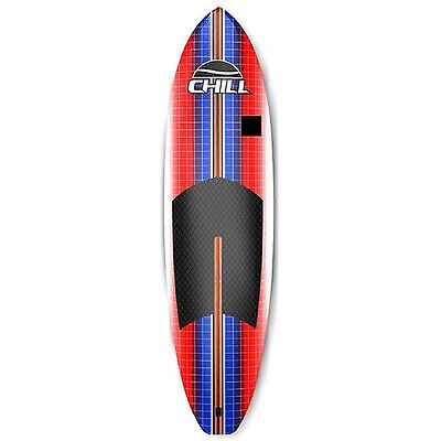 Chill Nalu 8' Stand-Up Paddle Board Package Red/Blue