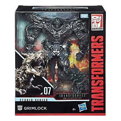 Transformers–Figurine MV6Studio Series TF4Leader Grimlock, e0773 ()