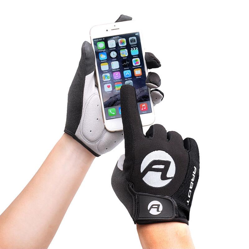 Full Finger Cycling Gloves Gel Bike Long Sports Touchscreen Gloves US