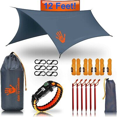 Best Choice Products Bug Net or Hammock RAIN Fly Tent TARP 12x10 / 10x10