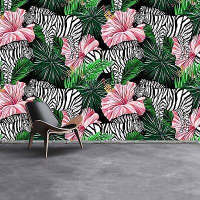 Einfach Zebra (Fototapete Selbstklebend Einfach ablösbar Mehrfach klebbar Zebras)