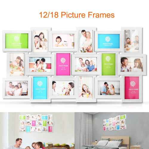 12x /18x Decorative Collage Picture Frames for Multiple 4x6