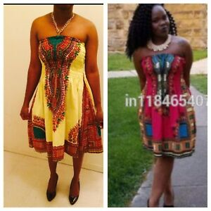 Dashiki dress all size Available