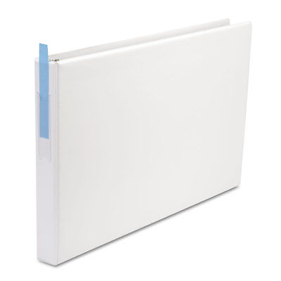 Universal Legal-size Round Ring Binder With Label Holder 1 Capacity 11 X 17