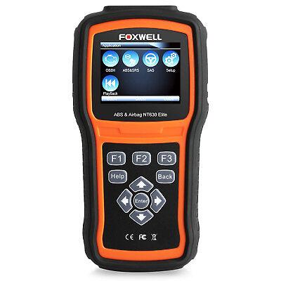 Foxwell ABS Airbag SRS Reset Diagnostic Tool OBD2 Code Reader NT630Elite Scanner